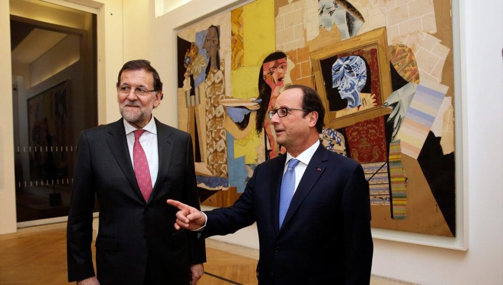 Mariano Rajoy en la cumbre hispano francesa