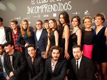 El elenco de actores de El Club de Los Incomprendidos