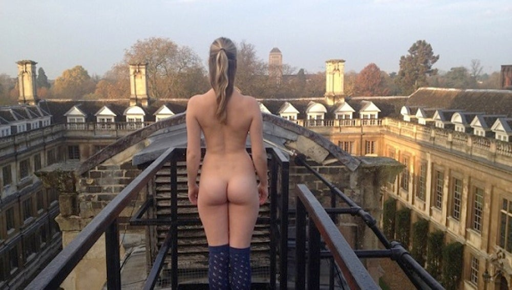 Los estudiantes de Cambridge eligen el mejor culo del campus universitario