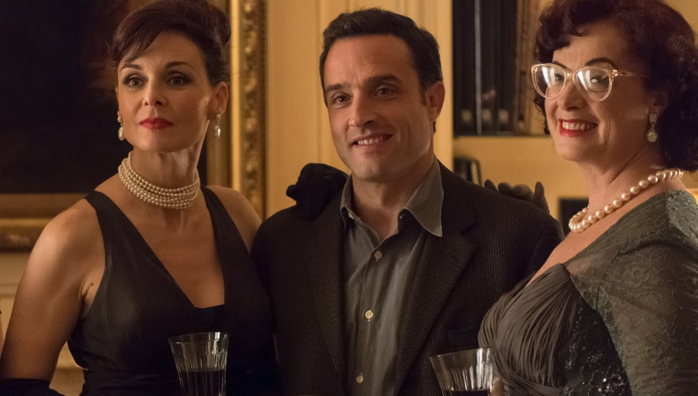 Daniel Guzmán es Lucas en 'Velvet'