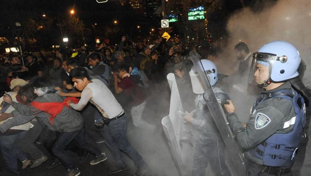 Revueltas en Ciudad de México.