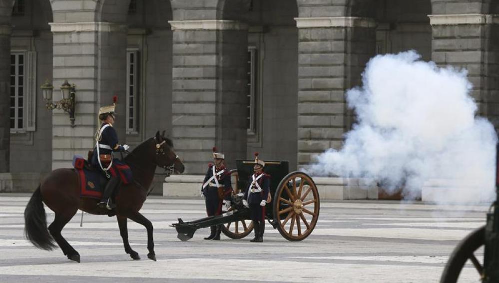 XX aniversario de la reanudación del Relevo Solemne en el Palacio Real
