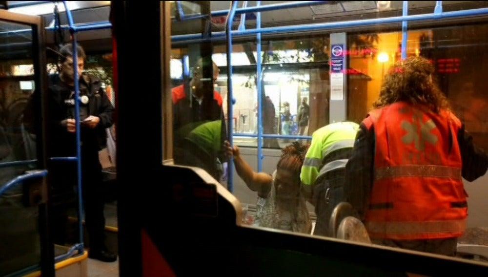 Una mujer da a luz en un autobús urbano en Palma de Mallorca