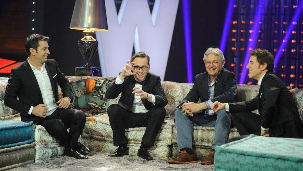 Josema Yuste y Joaquín Reyes en Los viernes al show