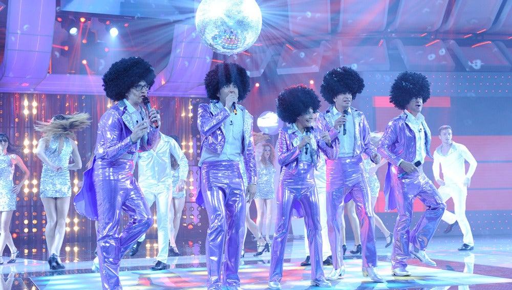 Los Jackson Five en Los viernes al show