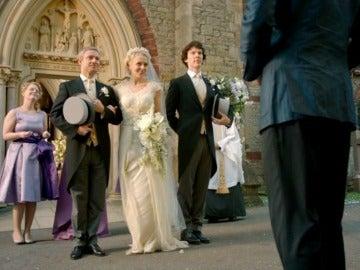 Sherlock se convierte en el padrino de John