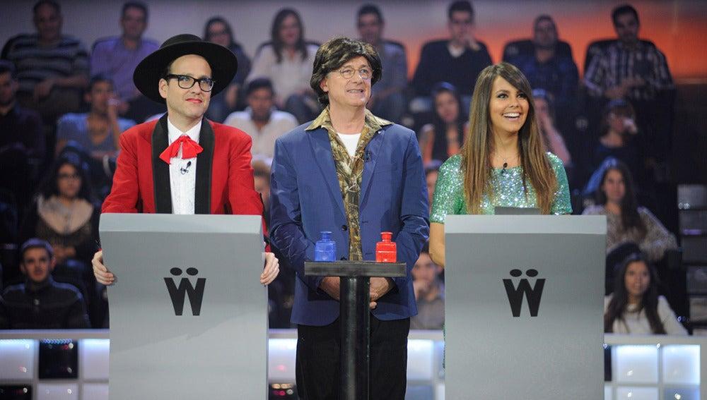 Joaquín Reyes, Josema Yuste y Cristina Pedroche