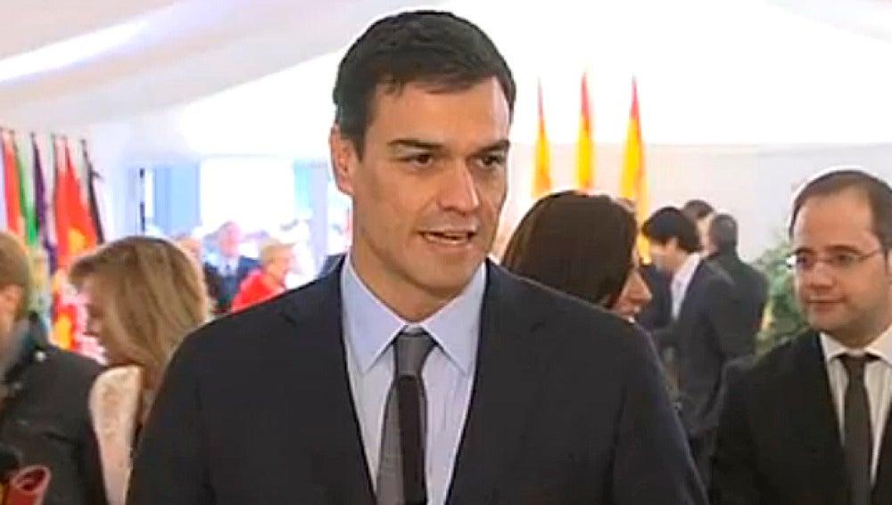Pedro Sánchez, en el Día de la Constitución