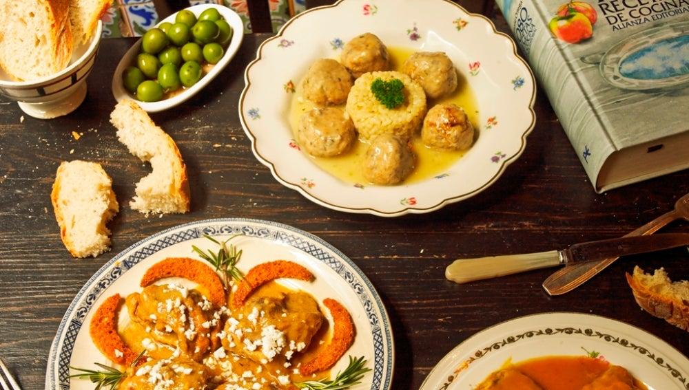 Los suculentos platos de Simone Ortega en versión de La Carmencita.