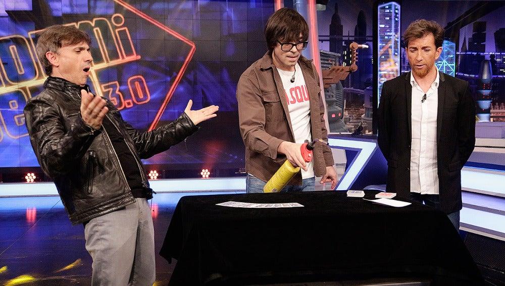 José Mota, Luis Piedrahita y Pablo Motos en El Hormiguero 3.0