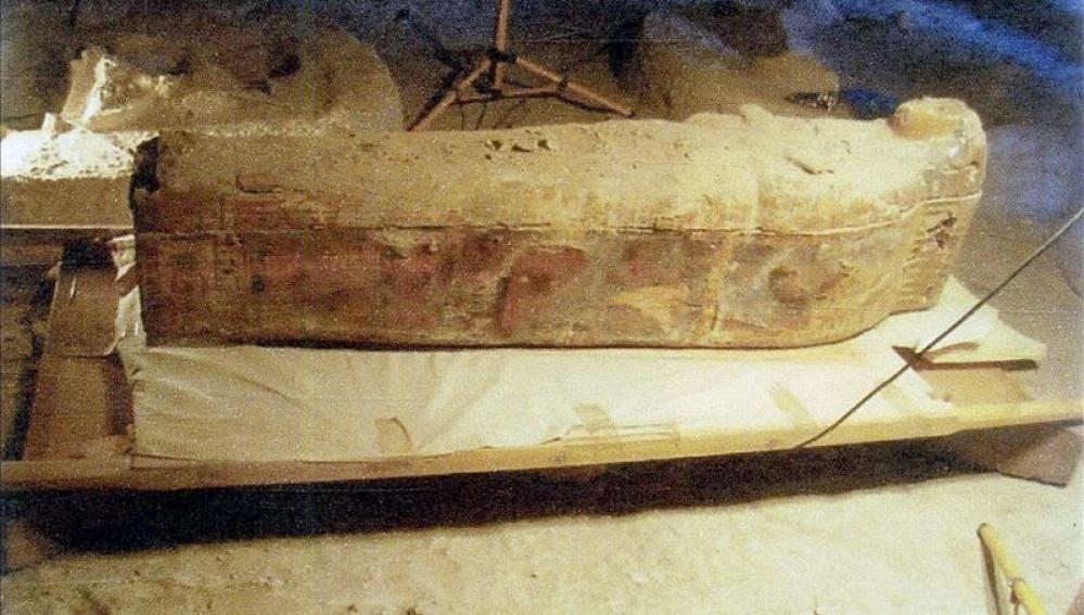 Foto facilitada por el Ministerio egipcio de Antigüedades