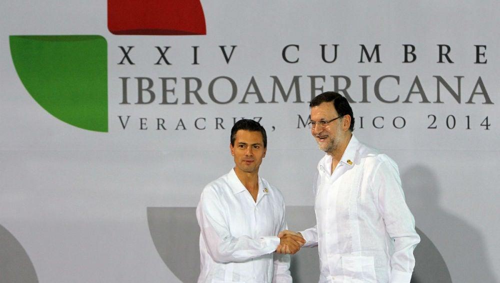 Mariano Rajoy en la Cumbre Iberoamericana