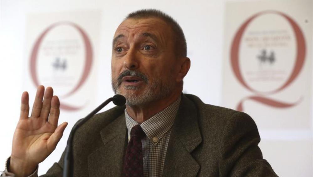 Pérez-Reverte en la presentación de El Quijote