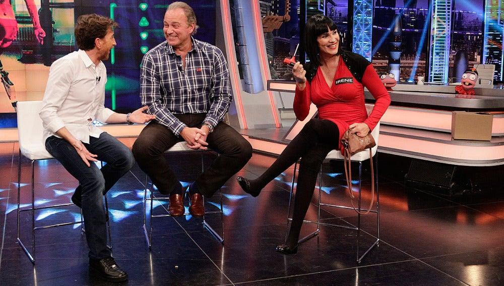 Pablo Motos, Bertín Osborne e Irene Villa en El Hormiguero 3.0