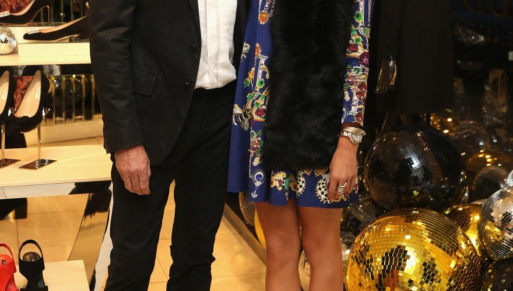 Scot Young, este mes de noviembre con su última pareja