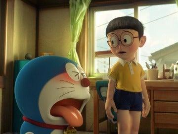 En la película Nobita crece y conoce el significado del amor