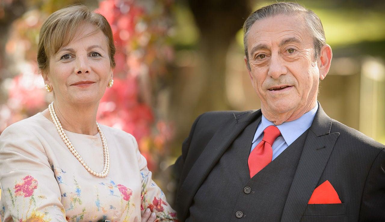 Luis Varela y Elena Irureta son Manuel y Concha