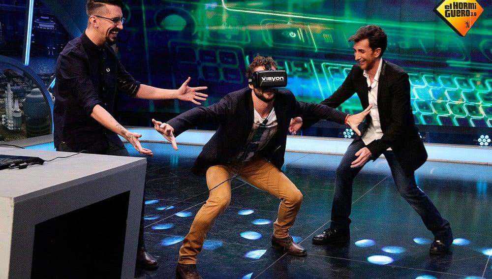 David Bisbal y la realidad aumentada en El Hormiguero 3.0