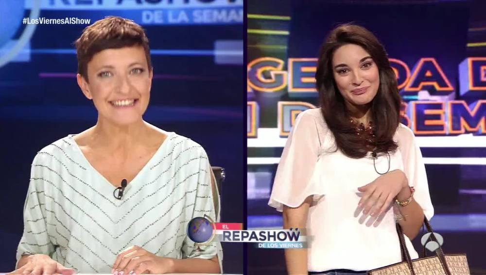 Tamara Falcó en Los viernes al show