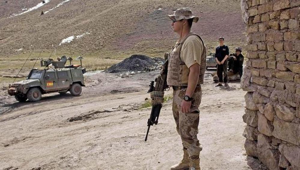 Imágenes del ejército español en Afganistán.