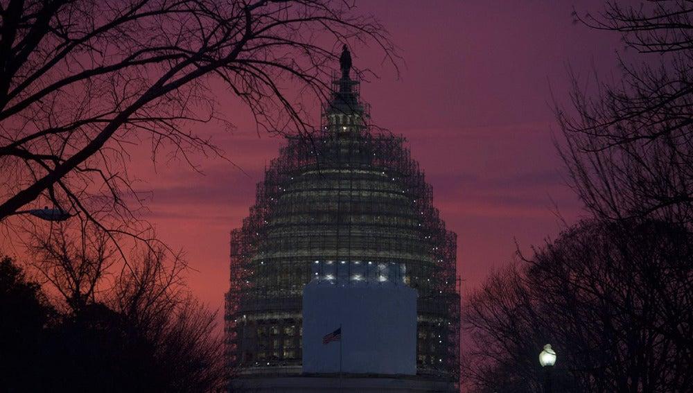Imagen del Capitolio en Washington