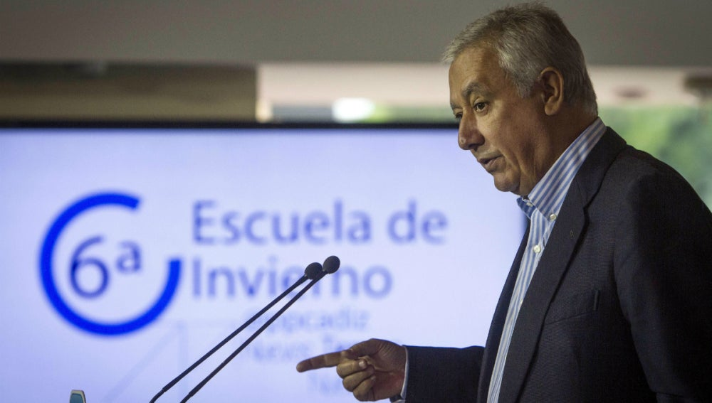 Javier Arenas, en un acto del PP