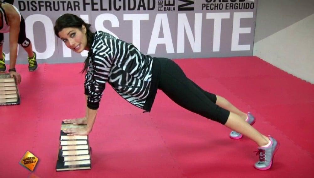 Clases de Step con Pilar Rubio