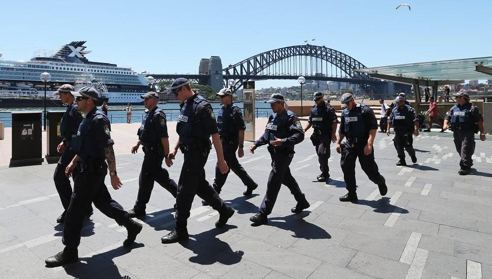 La policía rastrea el centro de Sidney