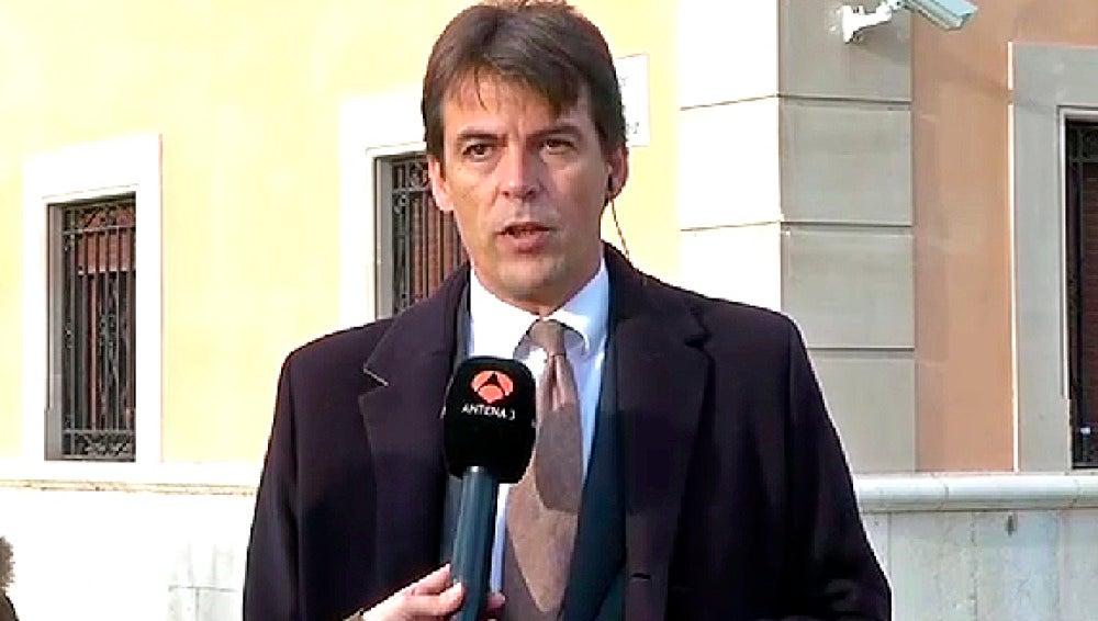 Jaume Riutort, abogado de la Infanta