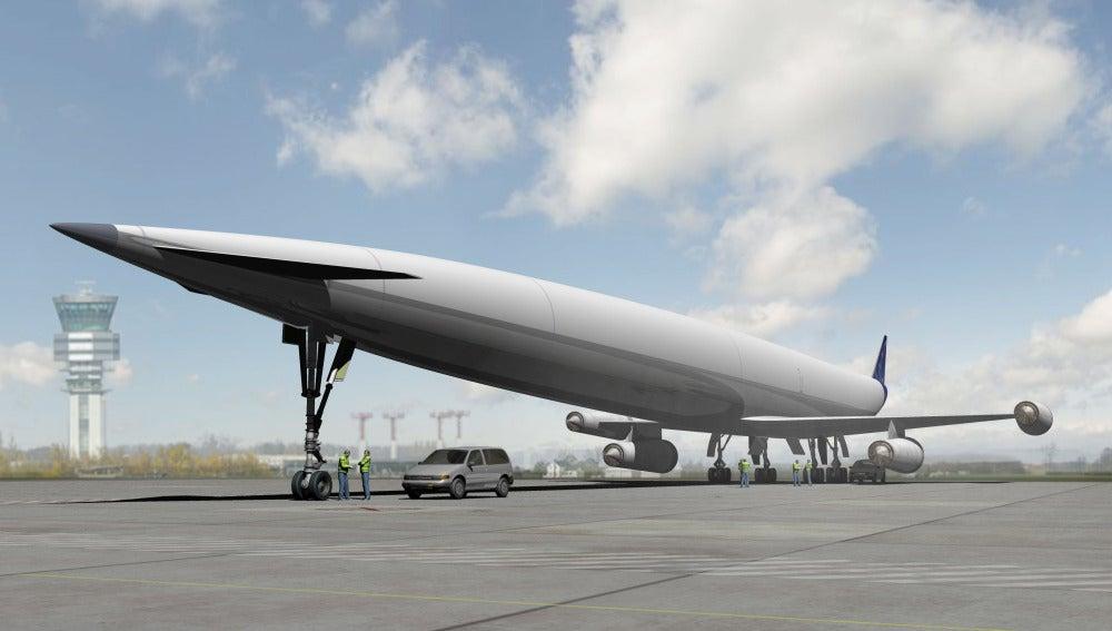 El avión Lapcat A2