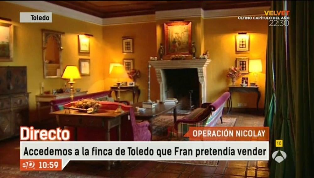 Antena 3 tv el propietario de la finca de toledo no for Espejo publico hoy completo