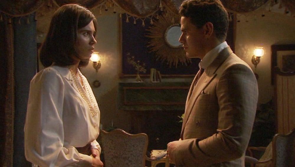 "Tristán a María: ""Ambos sabemos lo que has venido a buscar"""