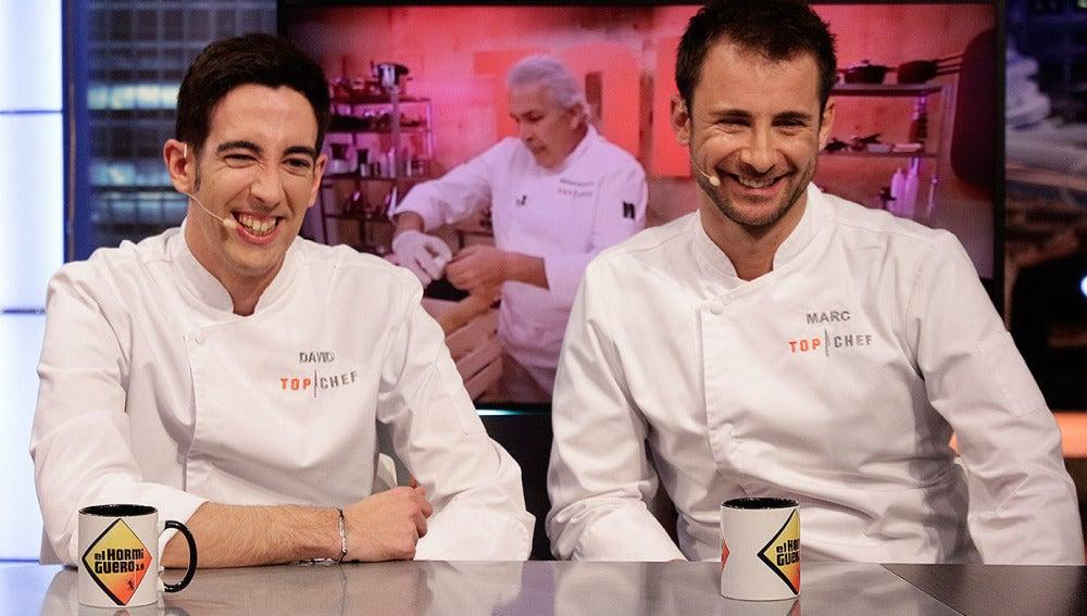 Marc y David, finalistas de Top Chef en El Hormiguero 3.0