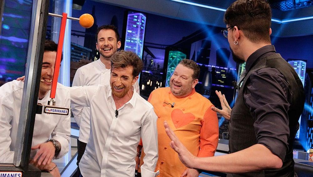 David, Marc, Chicote, Motos y Marron en El Hormiguero 3.0