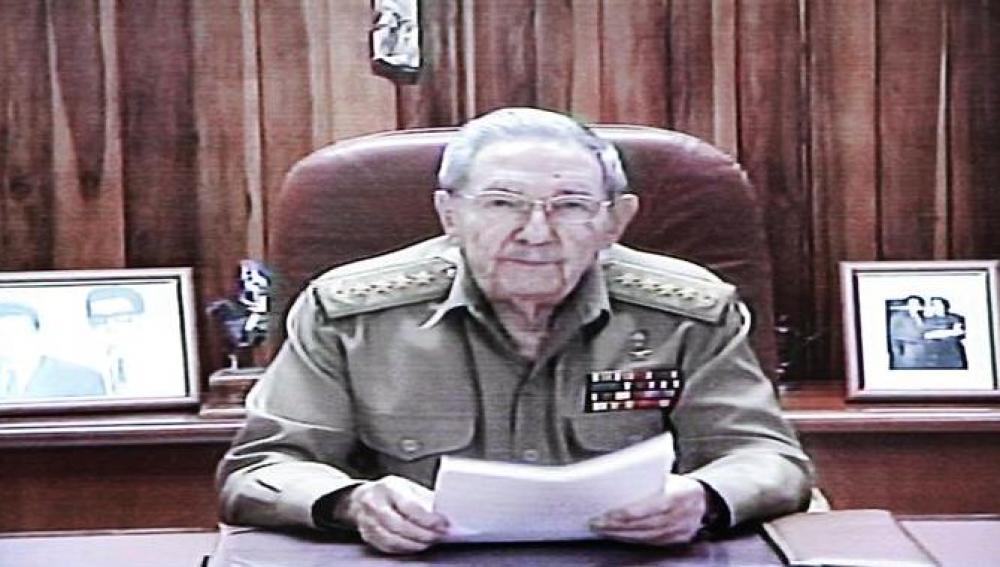Comparecencia de Raúl Castro