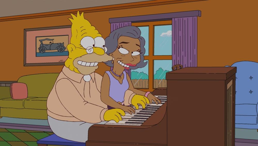 Los Simpson C512 'Adiós, Abie, adiós'