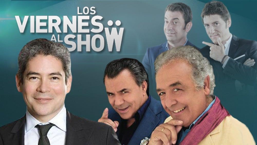 Boris Izaguirre y Los del Río en 'Los viernes al show'
