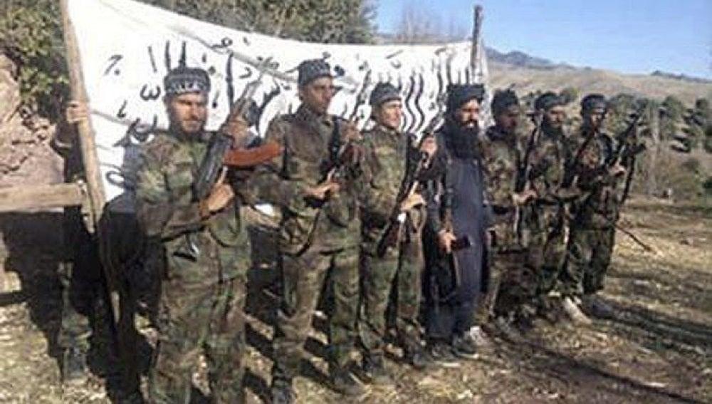 Presuntos autores del ataque a la escuela de Pakistán