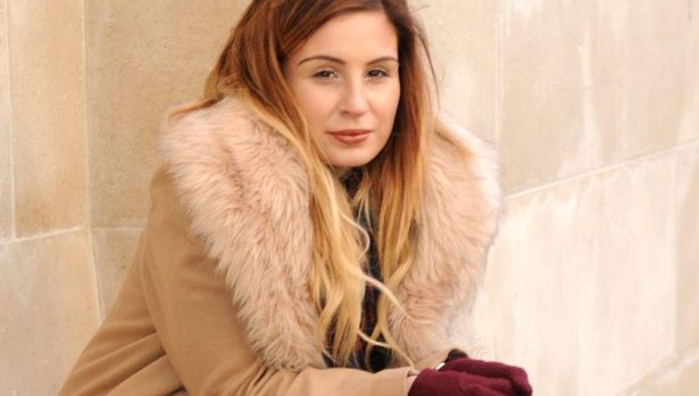 La joven Dominique Harrison-Bentzen.
