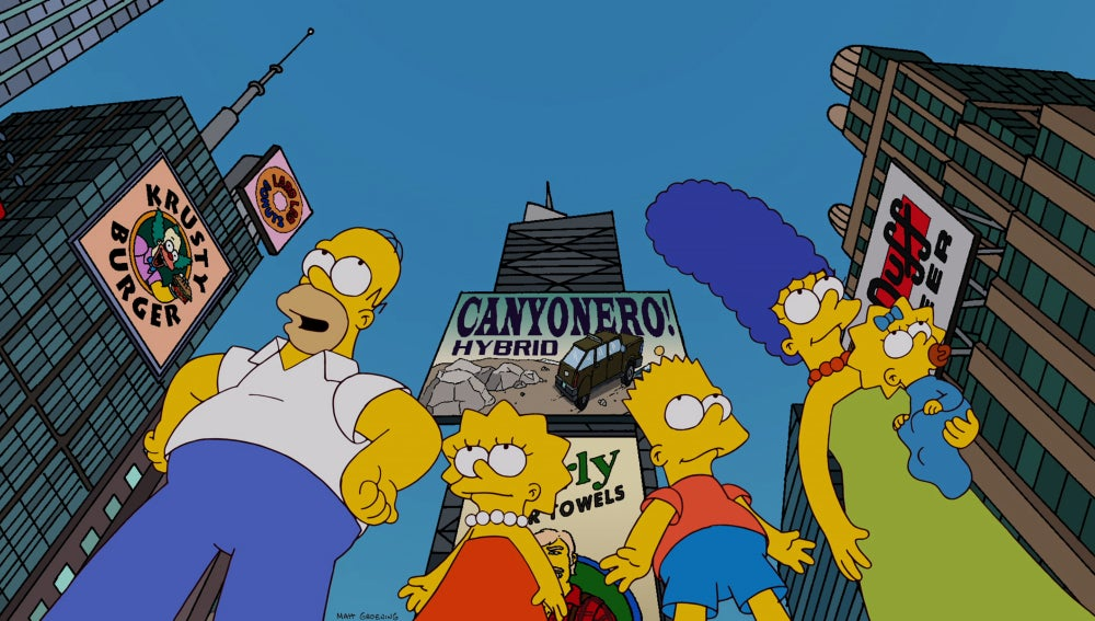 Los Simpson C509 'Ríos de alcohol'