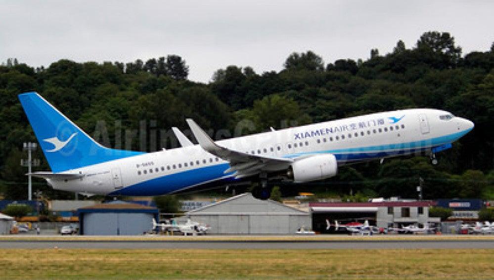 Avión Xiamen Air