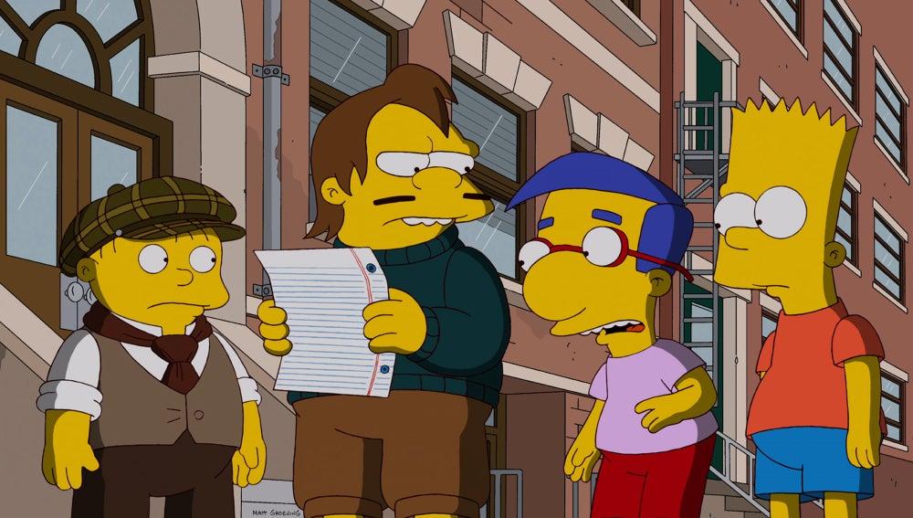 Los Simpson C511: 'Aventuras en buscabebés'