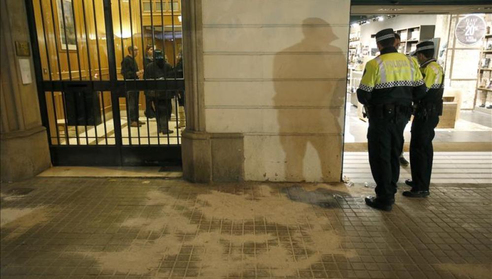 Pelea con armas blancas en el centro de Barcelona