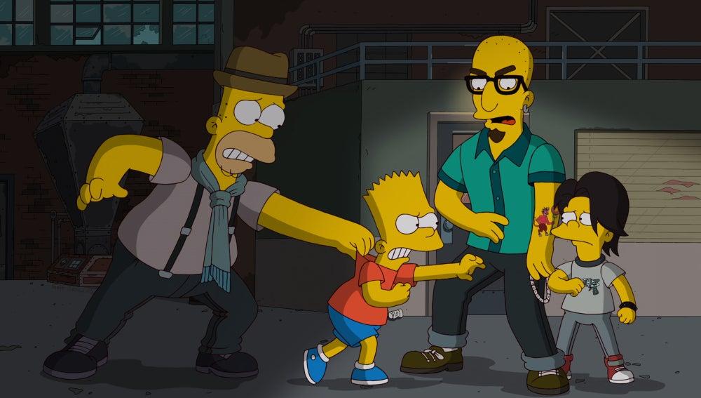 Los Simpson C515 'El día en que Springfield se enrolló'