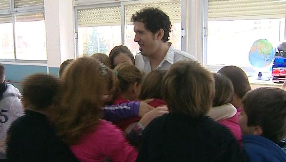 Cesar Bona, candidato a mejor profesor del mundo
