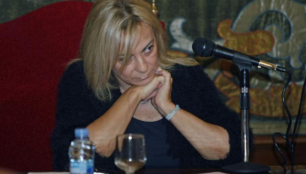 La alcaldesa de Alicante,Sonia Castedo