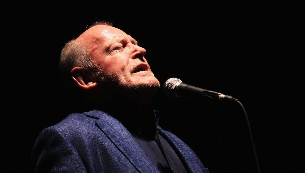Joe Cocker, durante una de sus actuaciones