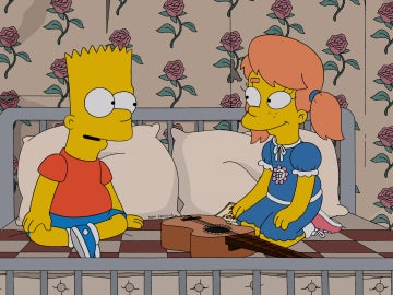 Los Simpson C520 'El amor es una cosa hecha añicos'