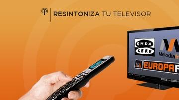 Resintoniza tu televisor para escuchar la radio