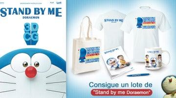 Consigue tres pack de 'Stand By Me Doraemon'